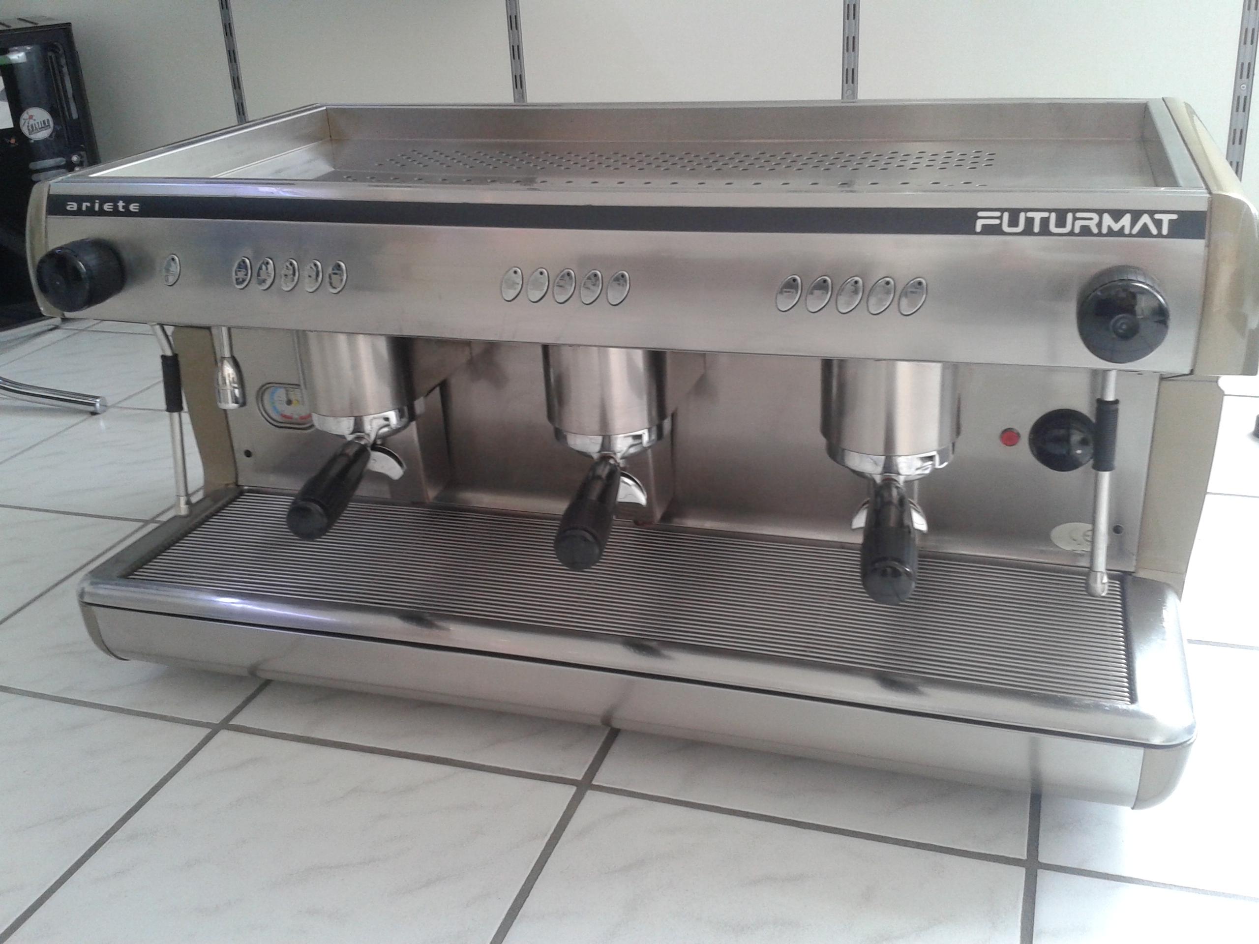 espresso service point futurmat ariete siebtr ger. Black Bedroom Furniture Sets. Home Design Ideas