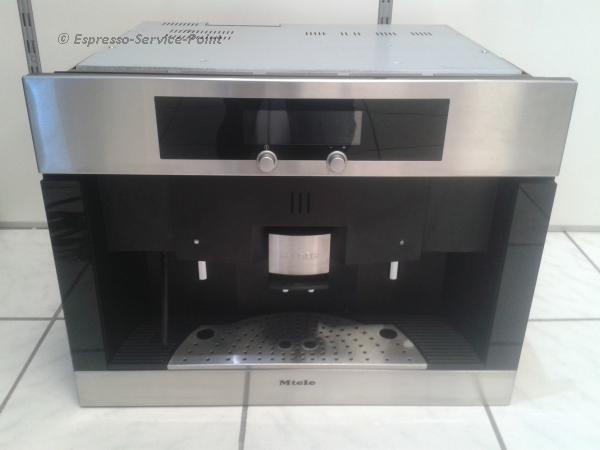 espresso service point miele cva 4060 einbauger t. Black Bedroom Furniture Sets. Home Design Ideas